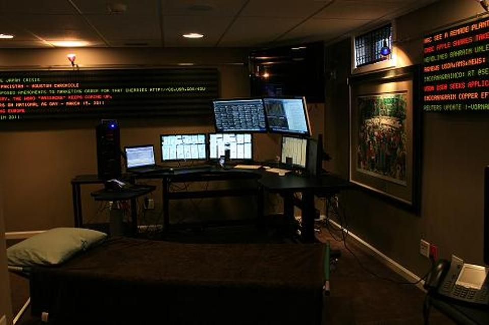 my new stock trading office setup