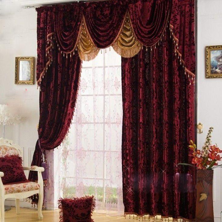 Velvet Burgundy Curtains ❤My Home Decor❤ Pinterest Read