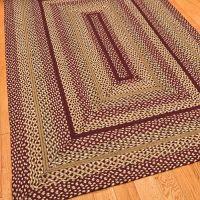 Love RECTANGULAR braided rugs... Jute Braided Rug ...