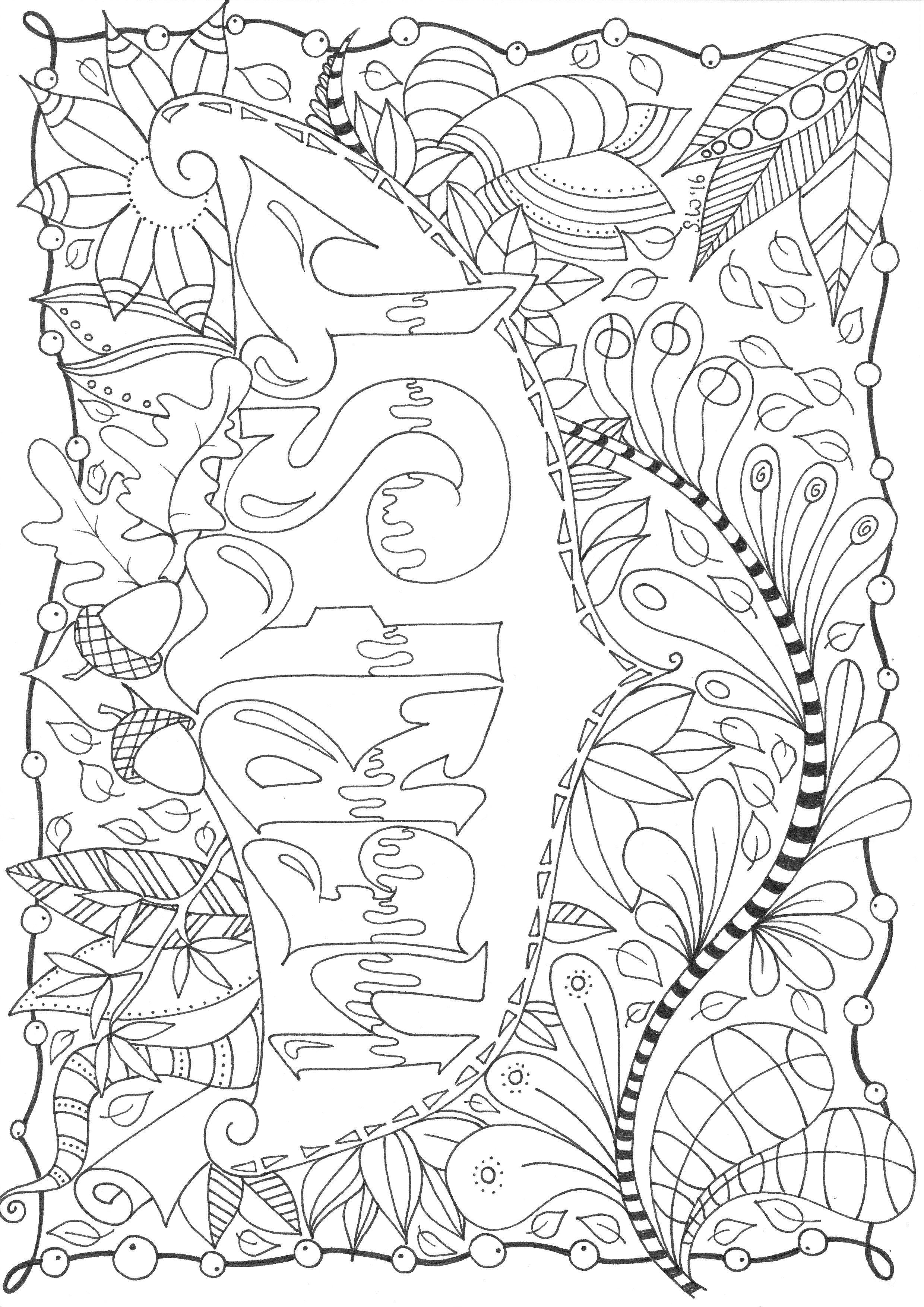 Kleurplaten Herfst Volwassenen.Gordijn Kleurplaat Henk Meijer Photography