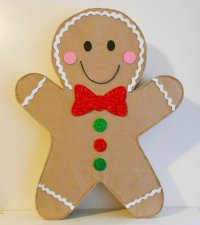 Gingerbread Man Pinata - christmas decoration - Christmas ...