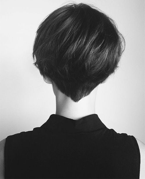 Stylish Back View Of Short Haircuts For Women 2015 2016 Hair