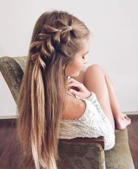 20 Girly Hairstyles You Must Love | Loose side braids ...