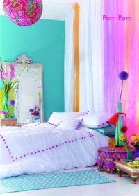 Bright Colored Bedrooms on Pinterest | Room Dividers Kids ...
