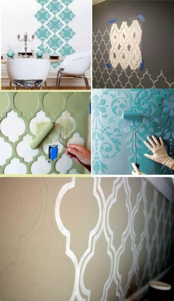 efectos pintura paredes  Pintate que viene gente