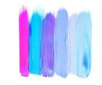 Ombre Brush Strokes Art Print | Freshman Dorm | Pinterest ...