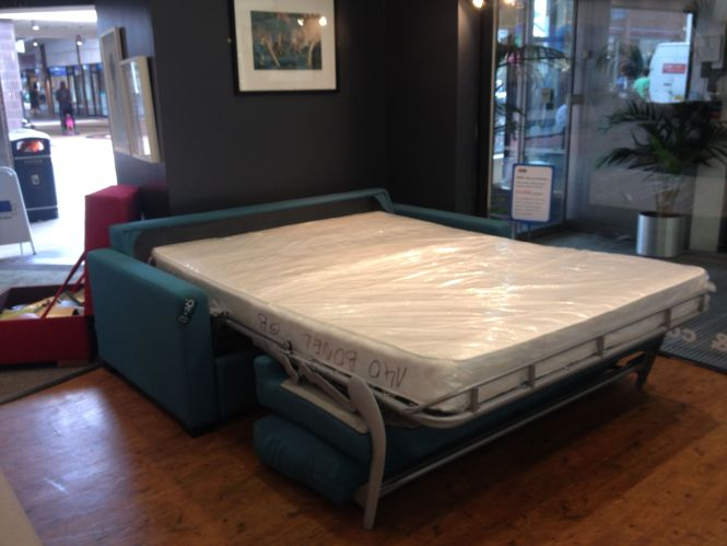 Our Por Regular Use Easy To Opem Sofa Bed With 140 Cm X 195 Reflex Faom Bonnell Mattress