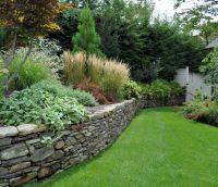 Dry laid Pennsylvania field stone wall. | Tenafly Elegant ...