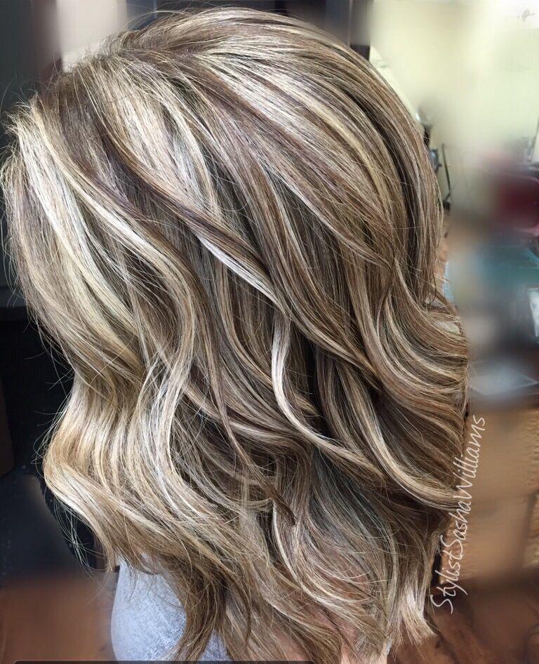 Lowlights Hairstyles