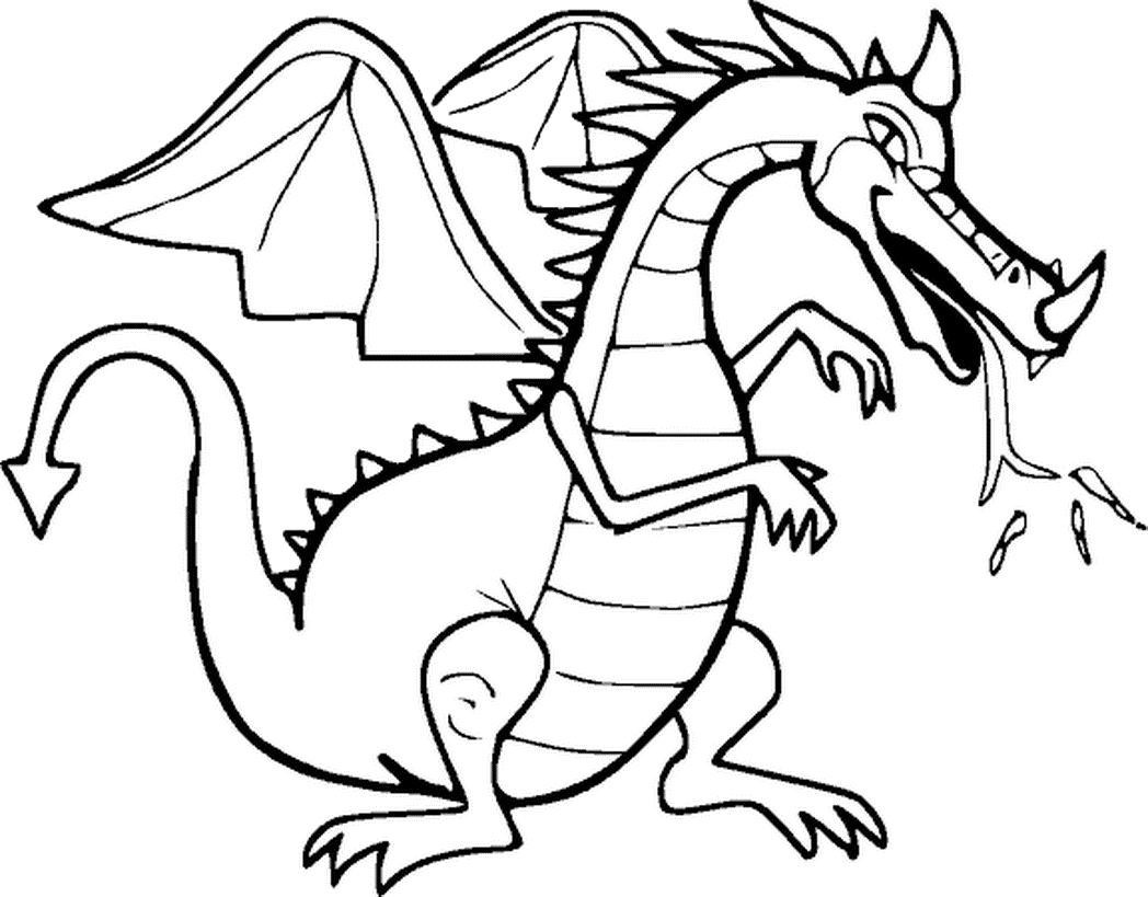 This Dragon Has A Horn On Its Nose