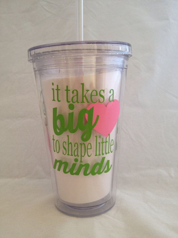 End Of Year Teacher Gift Tumbler Cup Lid And Straw