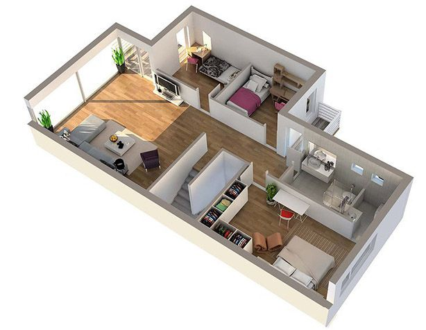 3D House Floor Plans Pictures Sims 3 Houses Pinterest House