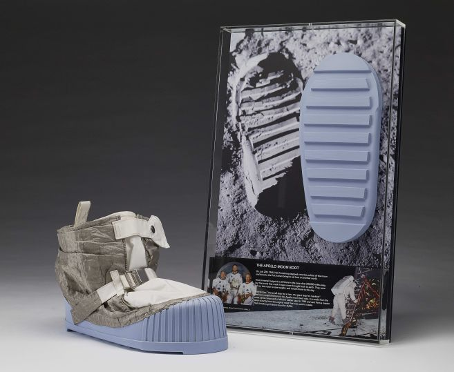 "Neil Armstrong and Buzz Aldrin's boots were never brought back from the moon – this mold is probably the closest we will ever come to recapturing that famous ""one small step for a man""!"