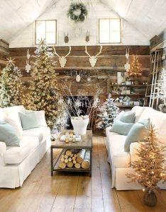festive christmas home decor for stylish makeover also logs rh za pinterest