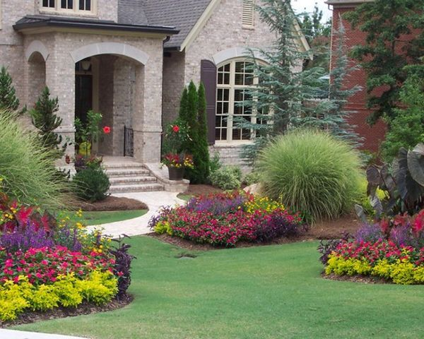 Flower Beds In Front Of House Flower Bed Plans For Front Of