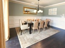 Crown Molding And Wainscoting In Bright White Lighten