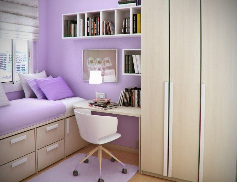 Small Girls Bedroom Design Idea By Sergi Mengot With