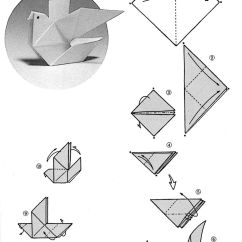 Paper Origami Turtle Diagram Skillion Roof Framing How 43to 43make 43origami 43doves For Folding An Dove