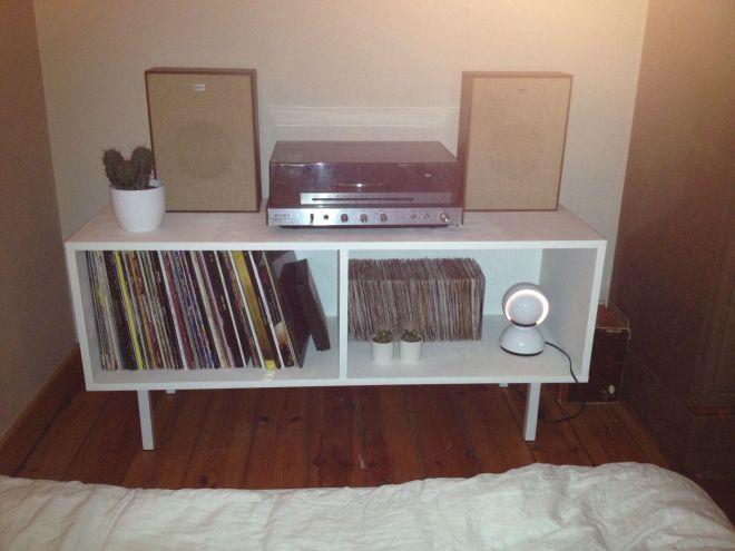 Diy vinyl record storage cupboard diy pinterest