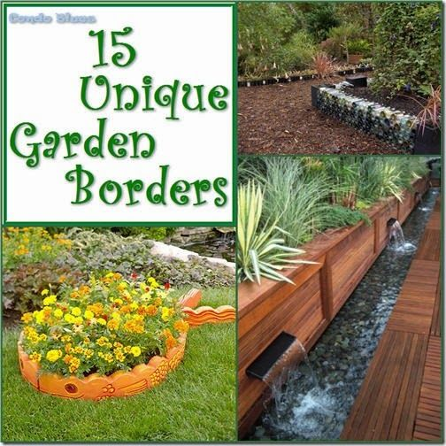15 Unique Garden Border And Edging Ideas Gardens Garden Borders