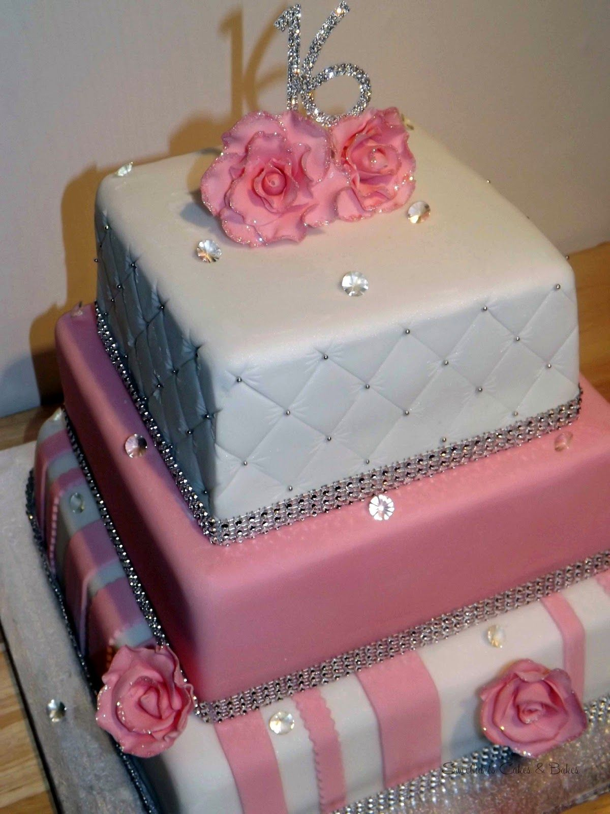 Sophisticated Sweet 16 Cake Ideas For Girls