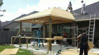New patio cover construction | GM Outdoor Living, Pool ...