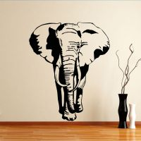 Quality Elephant Animal Wall Sticker | Animal and Mythical ...