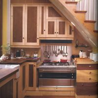 Photos Small Kitchen Design Under Stairs For Iphone Hd Pics Sculptor Henry Mooreus Understair In His London