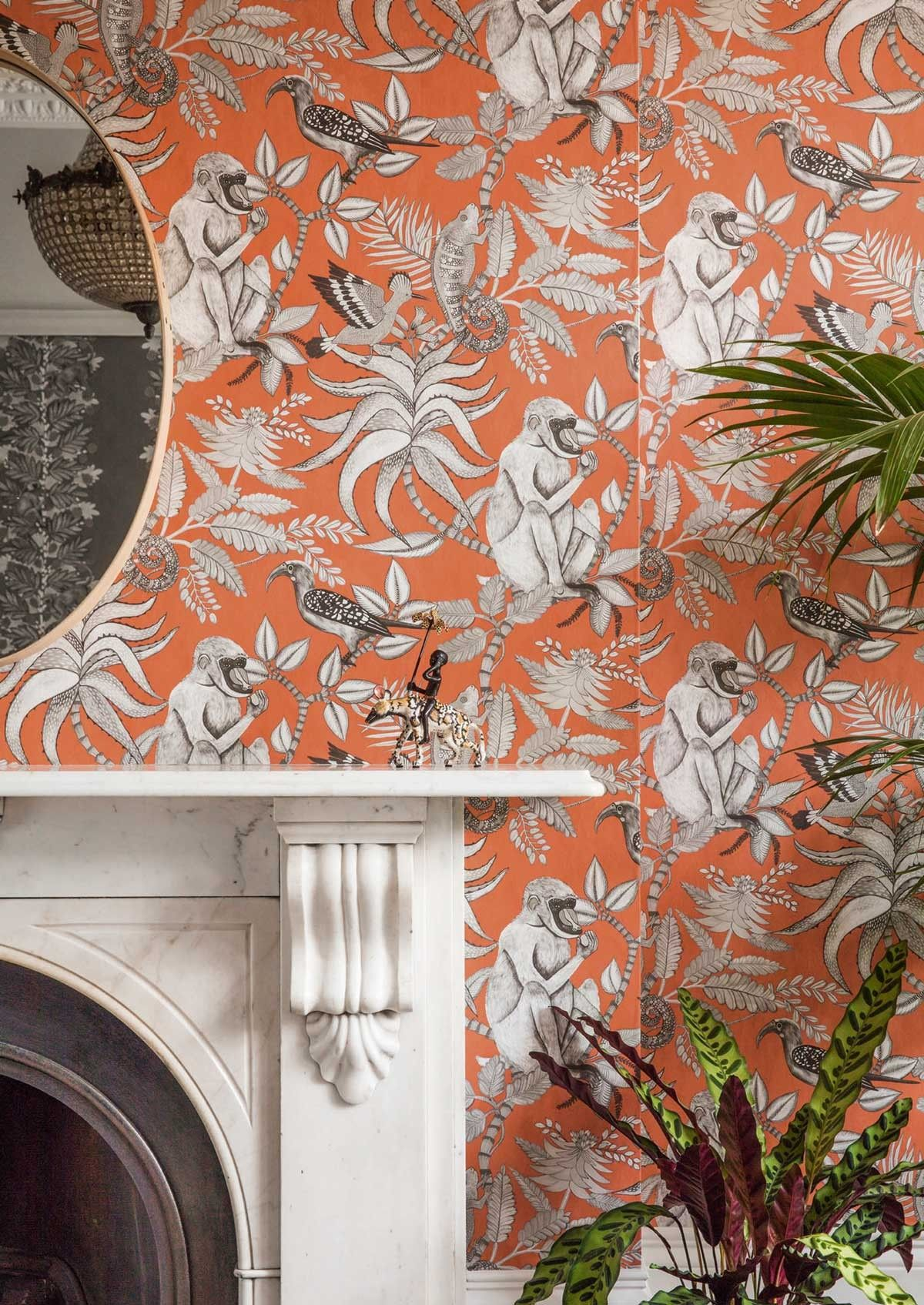 this majestic savuti wallpaper forms part of cole & son's ardmore