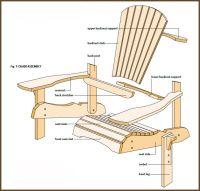 DIY Adirondack Chair Plans | Adirondack Chair Plans ...