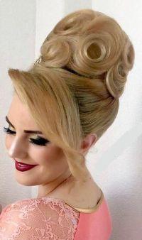 Pin by Zsfia Pink on Bun Hairstyles | Pinterest | Big ...