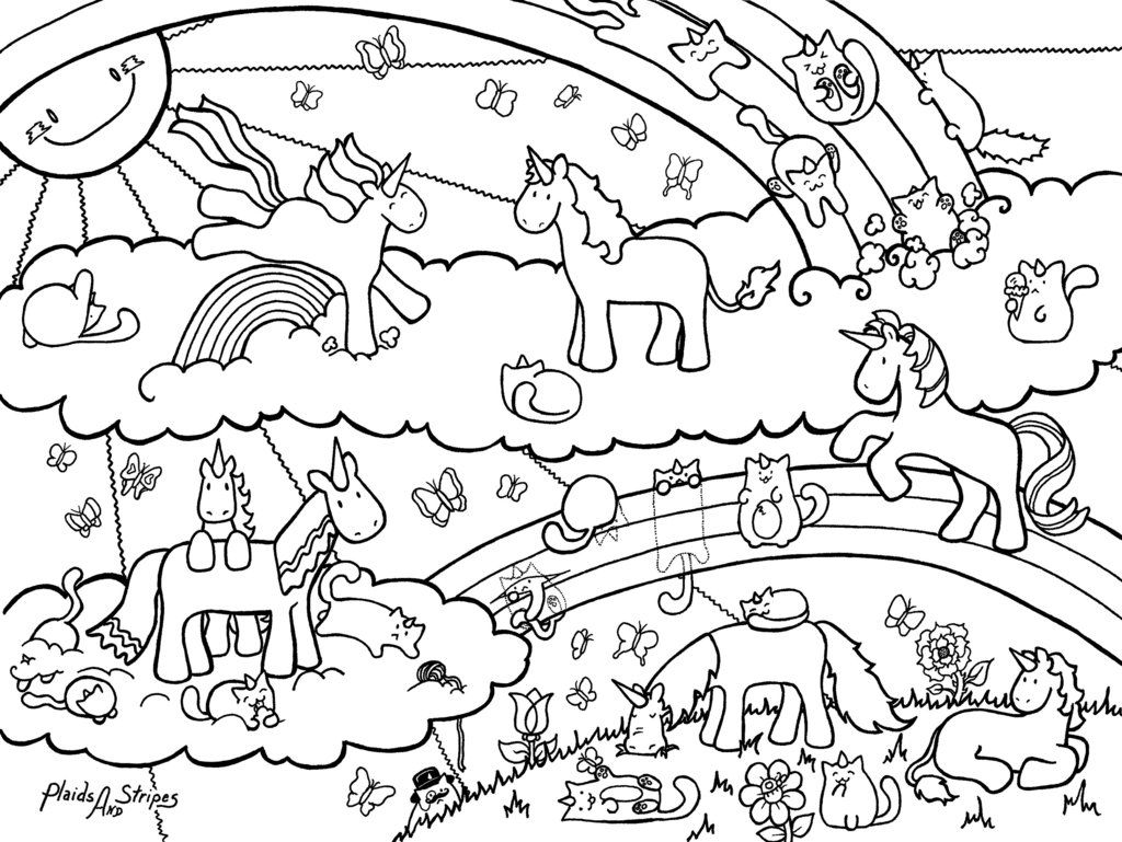 Unicorn Fairy Tales Coloring Pages Printable Art Sheets For Download For Free Horse Pegasus