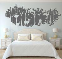 Deer Nursery Wall Decals | Deer nursery, Living room ...