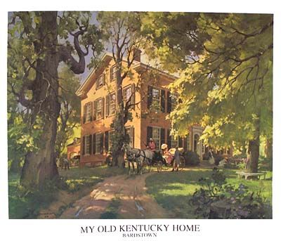My Old Ky Home Print