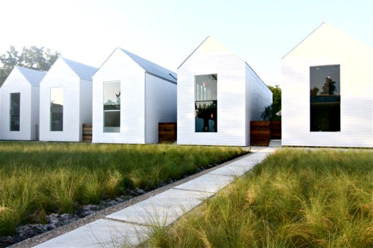 Houston Row Houses Are An Exercise In Daylighting & Simple