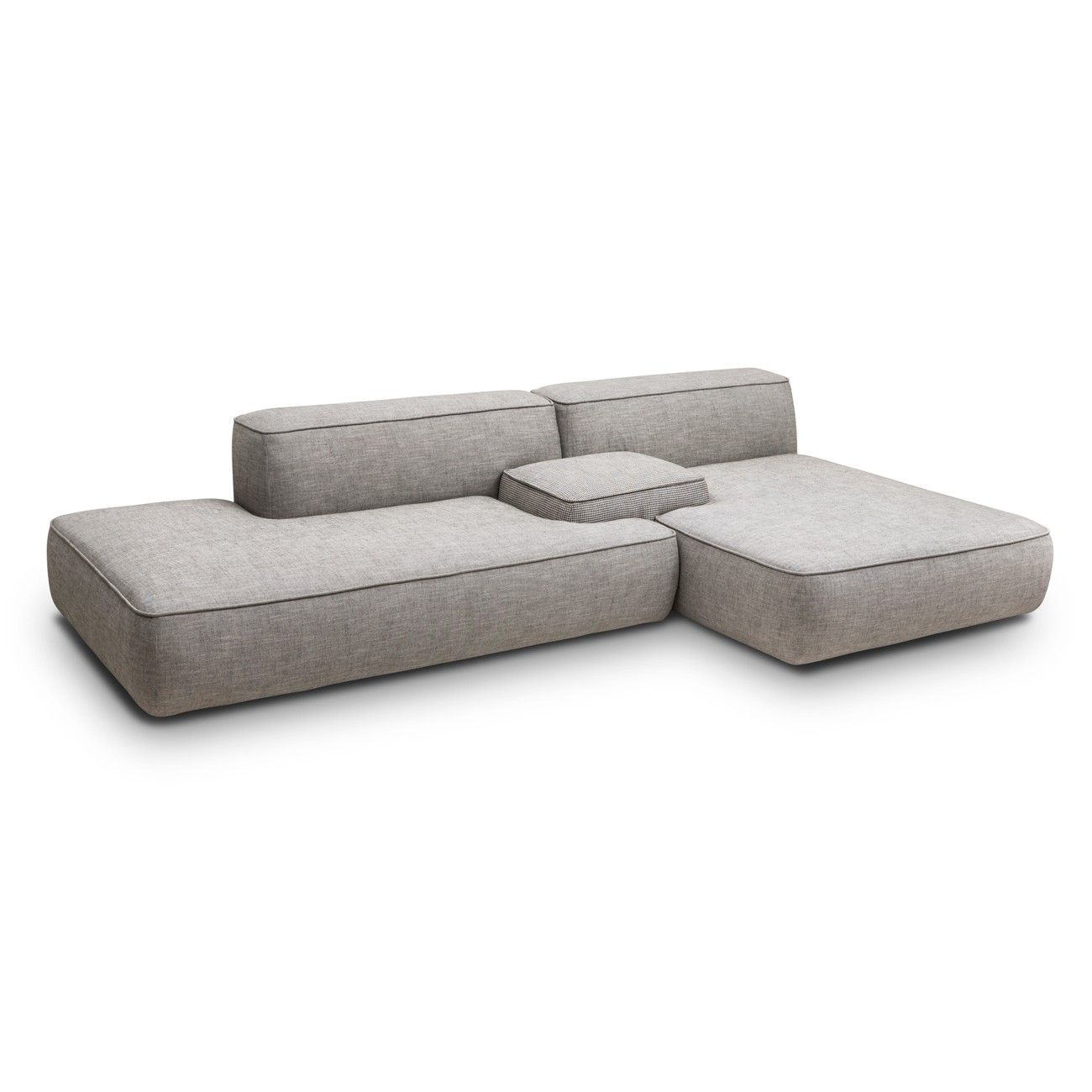 modular lounge with sofa bed adelaide mainstays 1 piece stretch fabric slipcover chaise in our magnesium