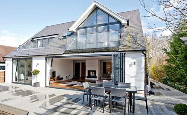 Dormer Bungalow With Loft Conversion And Balconies Floor Plansexteriors Pinterest Dormer