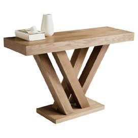 wood console table product console tableconstruction material ash wood and wood veneerscolor driftwoodfeatures