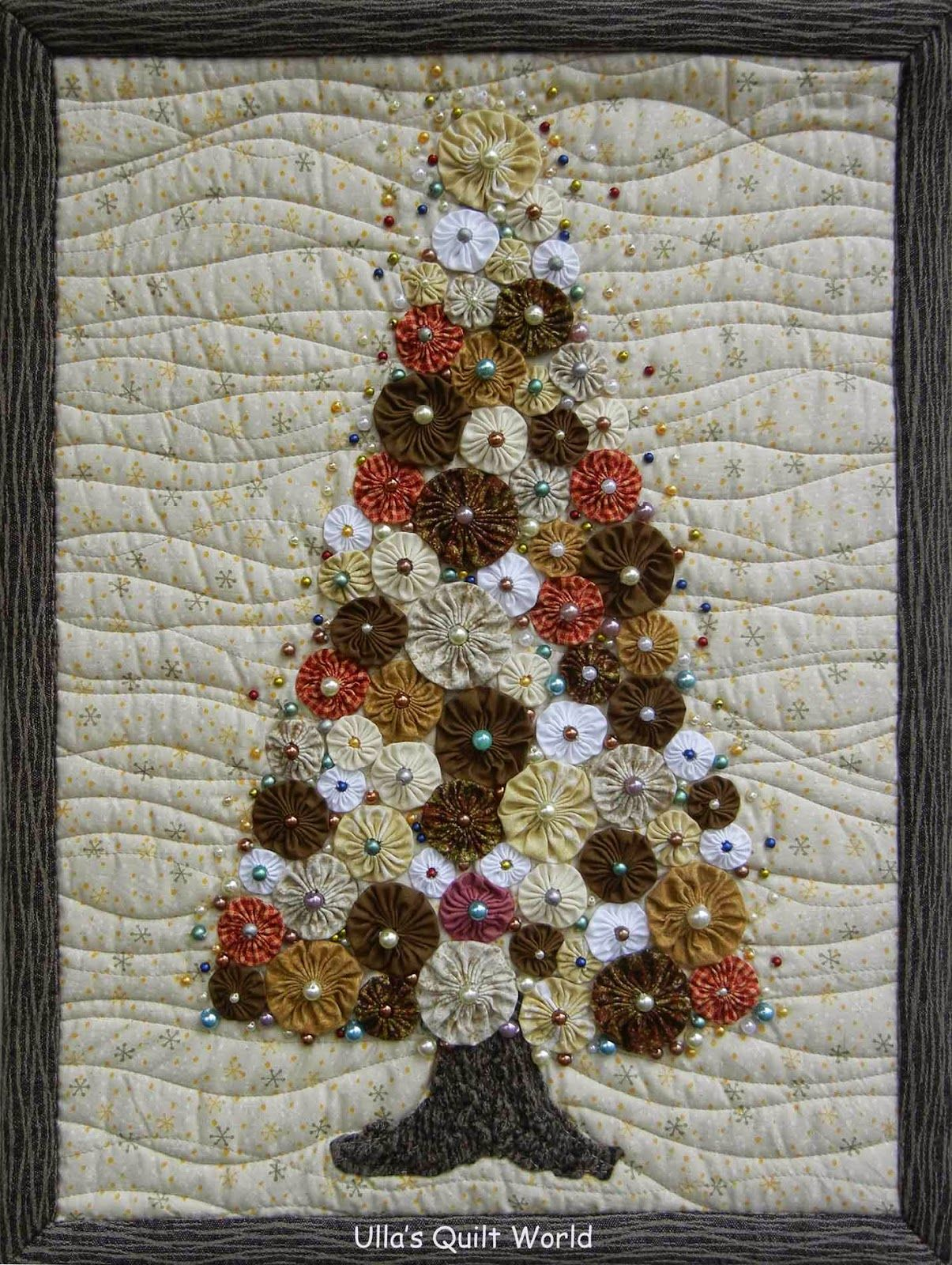 Quilted Christmas Tree Wall Hanging Patterns