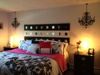 Black, white, & hot pink bedroom | For the Home ...