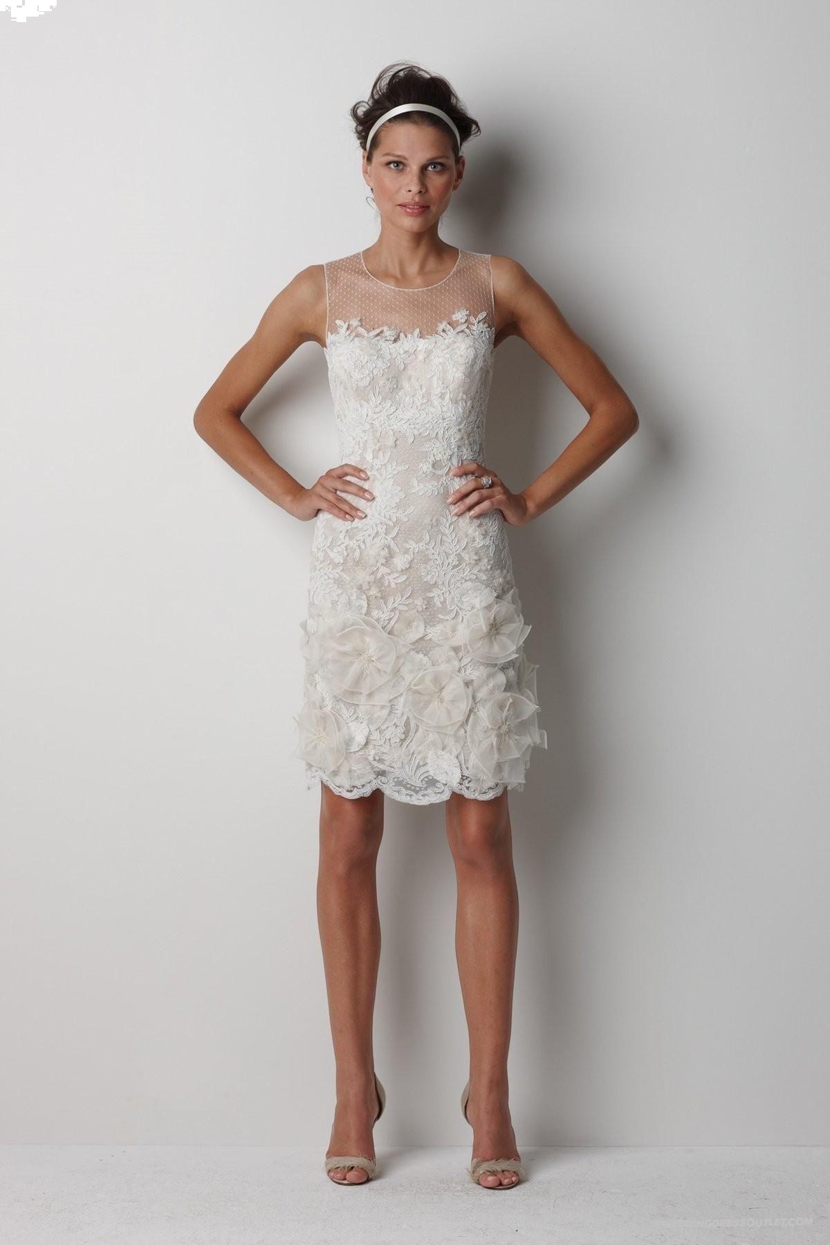 Spitze Kurz Hochzeitskleider Pinterest Kurzes Kleid