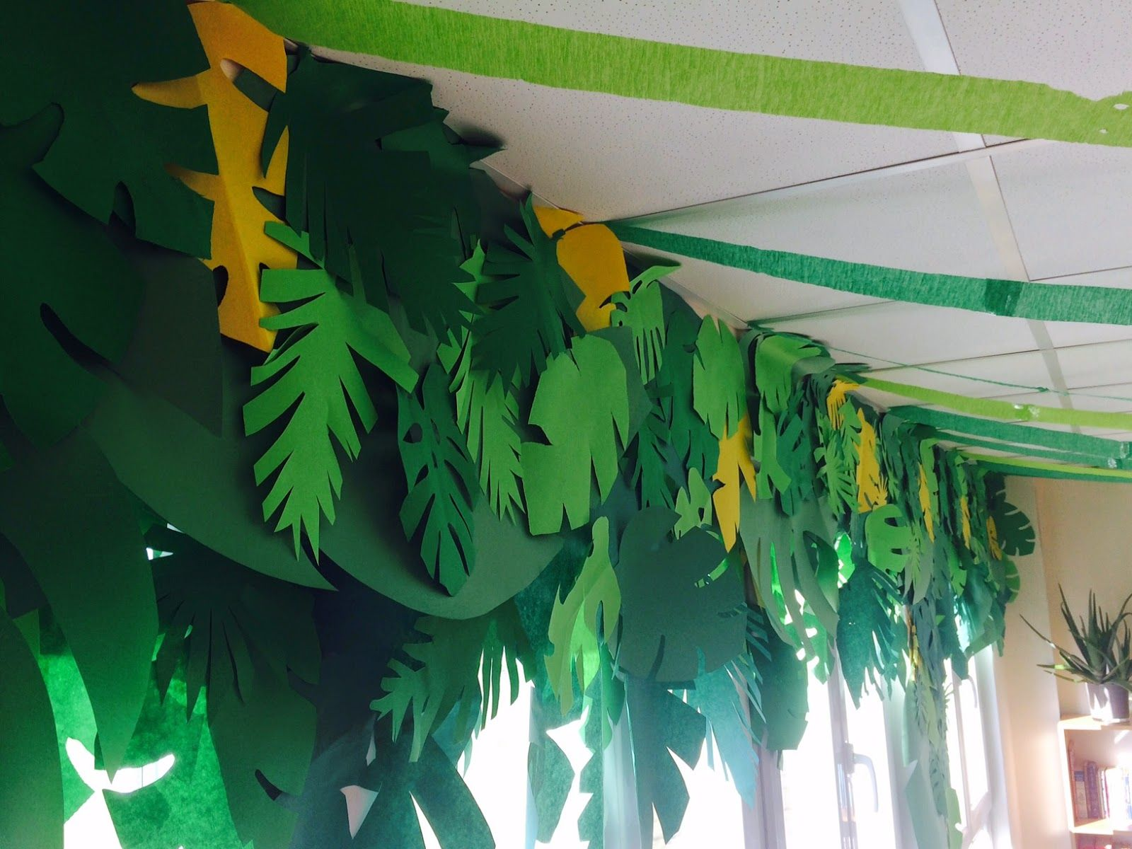 Tiki Island Jungle Rainforest Classroom Decorating Theme