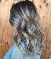 stunning ash brown hair colors