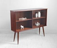 Mid Century Teak Bookshelf - Cabinet, Wall Unit, Credenza ...