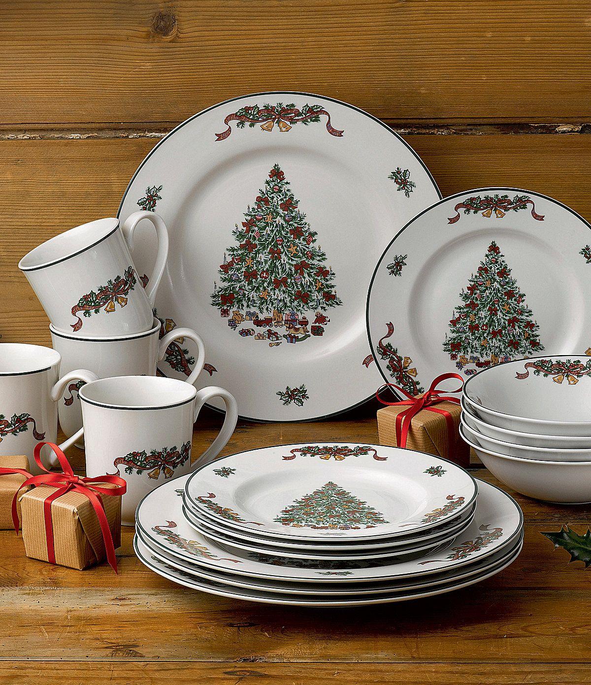 Nikko Christmas Dinnerware Dishes