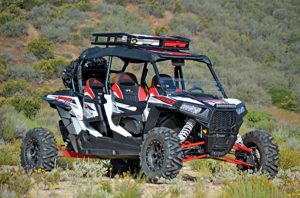 Another roof rack idea. RZR XP 1000