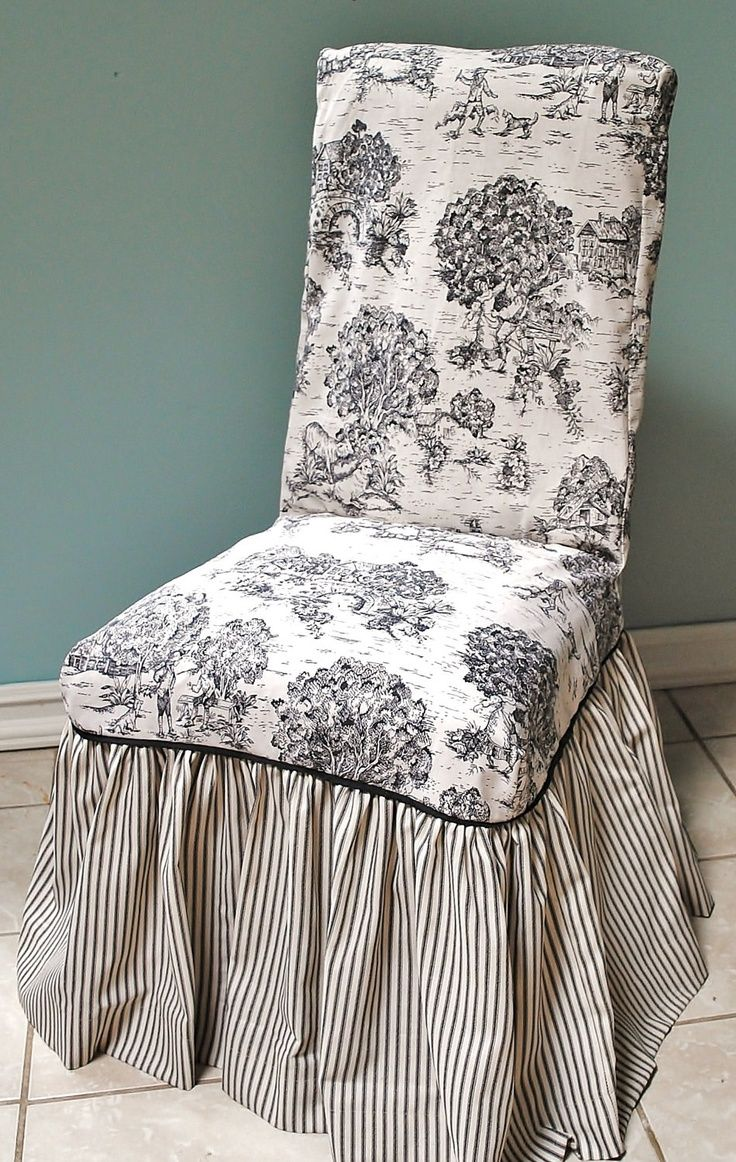 black wingback chair covers ergonomic folding chairs toile images | and ticking cover de jouy pinterest ...