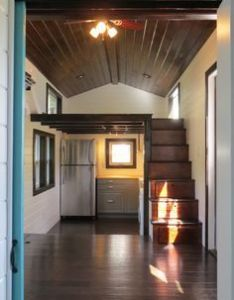 north  square feet tiny house on wheels designed and built by brevard in carolina also cool the houses pinterest rh