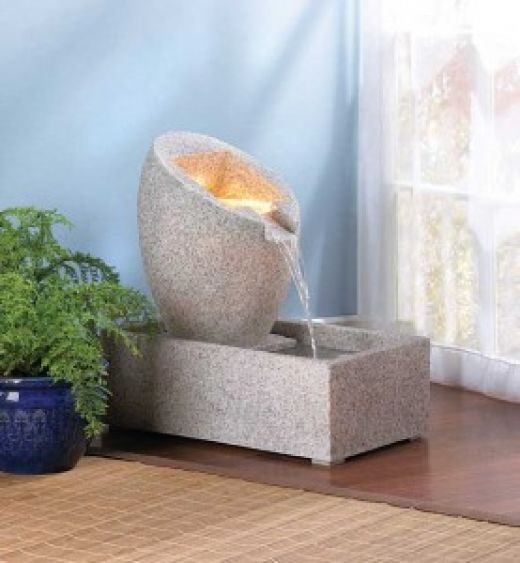 Interior Water Fountains Benefits Of Relaxing Water Features In