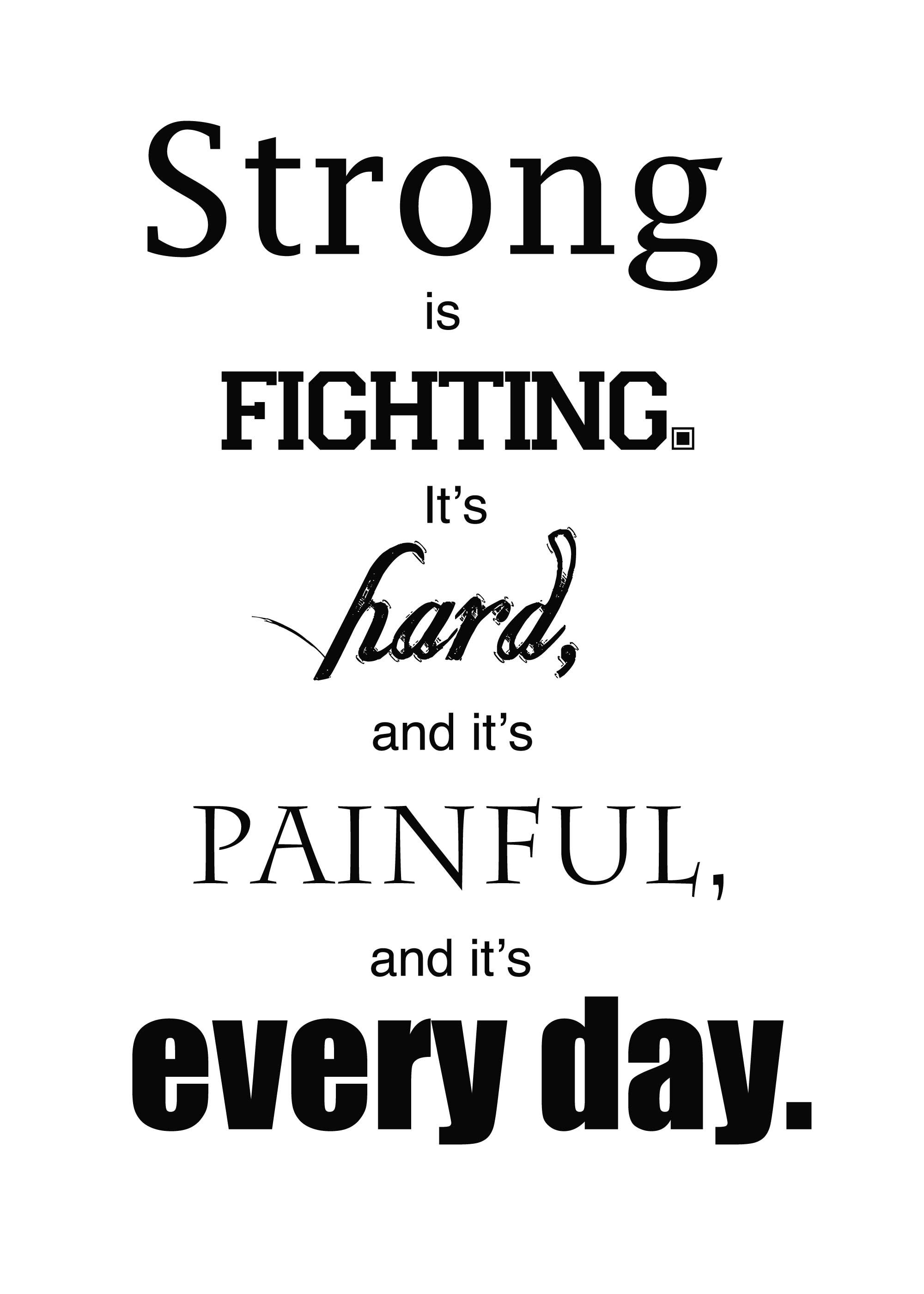 Chronic Pain Quotes Cancer Keep Fighting Quotes Chronic Pain Picture